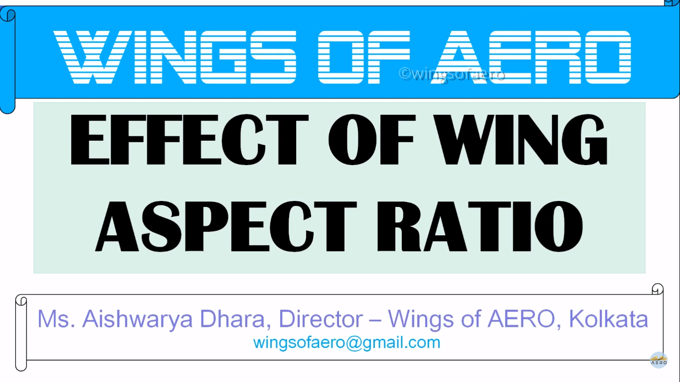 Concept of Wing Aspect Ratio
