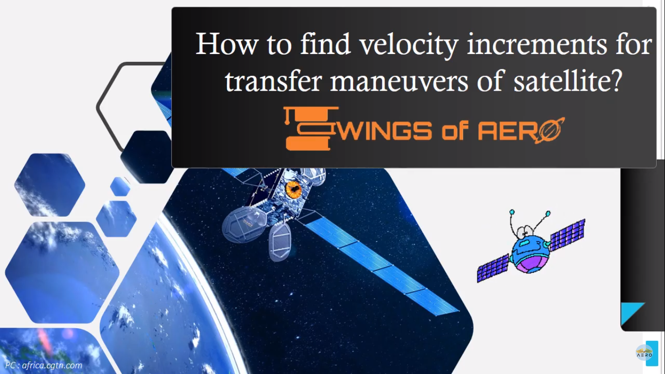 Velocity Increments For Transfer Maneuvers Of Satellite