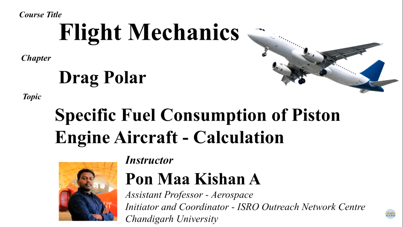 SFC Calculation for Piston Engine Aircraft Performance with Altitude