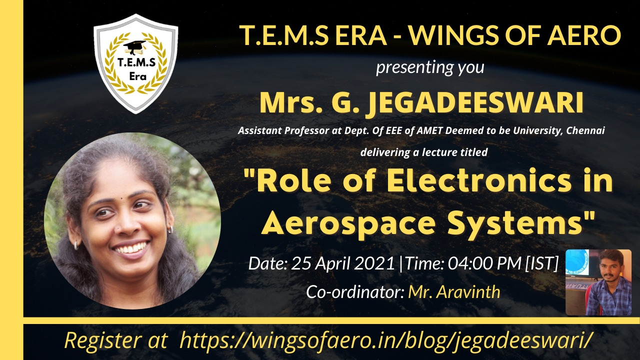 Role of Electronics in Aerospace Systems