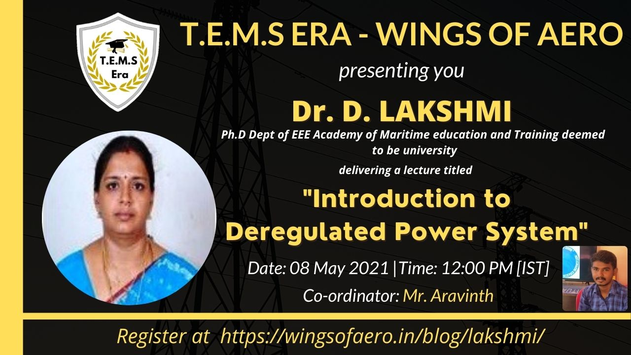 Introduction to Deregulated Power System